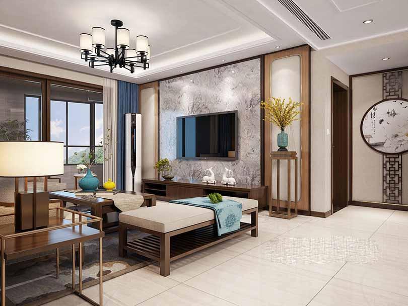 成都450平中式别墅装修设计-别墅壮戏设计