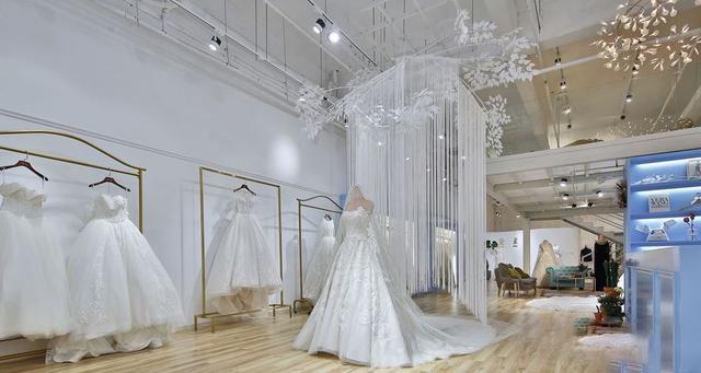 成都婚纱摄影店装饰设计风格打造-成都工装设计公司