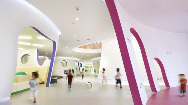 成都幼儿园装修如何设计实用-幼儿园装修设计公司