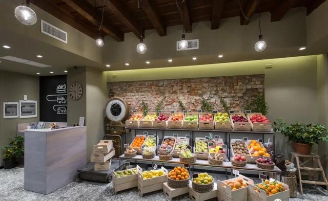 果蔬超市装饰设计的几个要点及注意事项