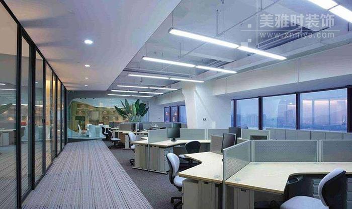 大型办公室装修空间规划