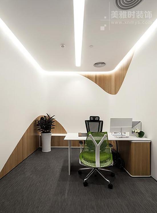 成都办公室设计装修如何凸显简约和大气