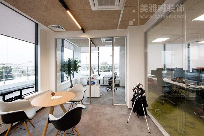成都办公室装修空间的风格设计特色