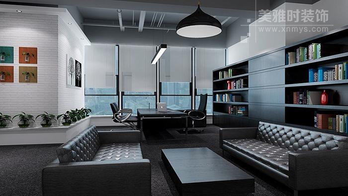 开放式办公室设计的天花板装修要点