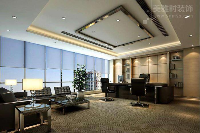 简约风格办公室应该怎么装修?