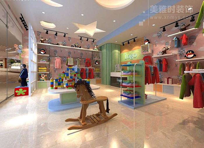 童装店面如何装修比较能吸引客户眼光