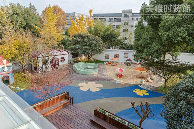 成都幼儿园操场空间装修设计要点