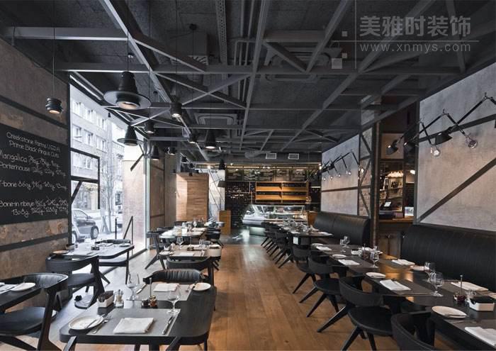 成都美式餐厅装修设计特点