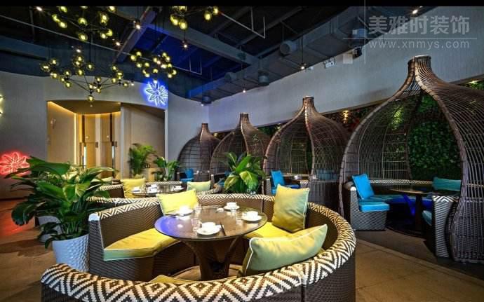 成都餐饮空间设计中的绿化布置要点
