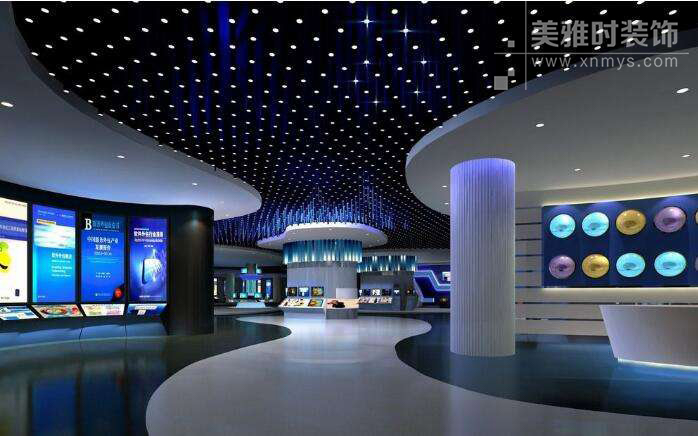 成都展厅装修设计如何突出特色?