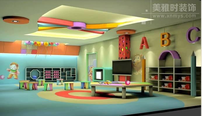 成都幼儿园装修设计中如何突出教学空间功能性?