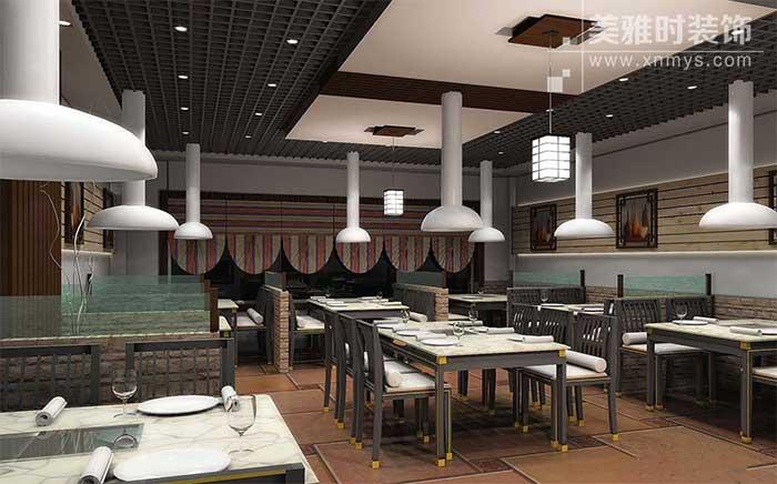 成都烧烤店装修设计的整体规划合理布局