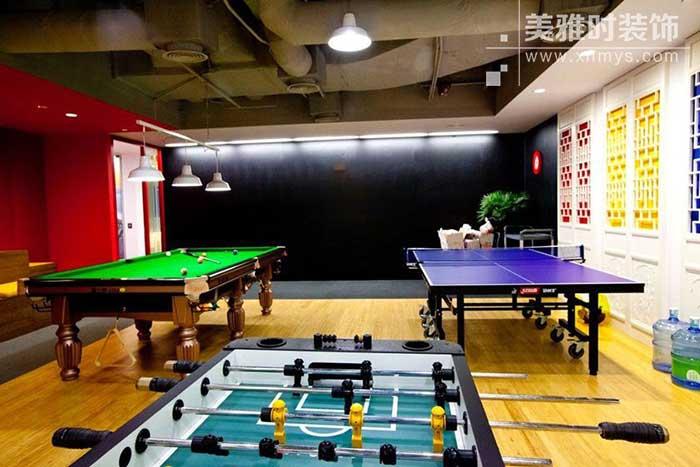 成都办公室装修中娱乐空间的重要性。