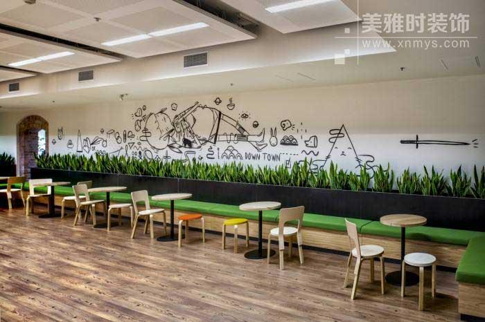 成都办公室装修公共休息区如何设计