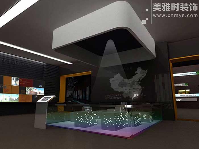 如何做出一个完美的高端展厅设计效果