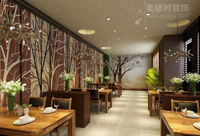 新中式风格在茶社中的设计运用