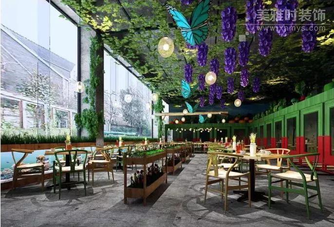 生态园餐厅装修设计该如何进行?