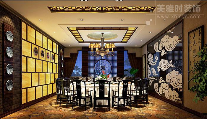 成都专业特色中餐厅装修设计
