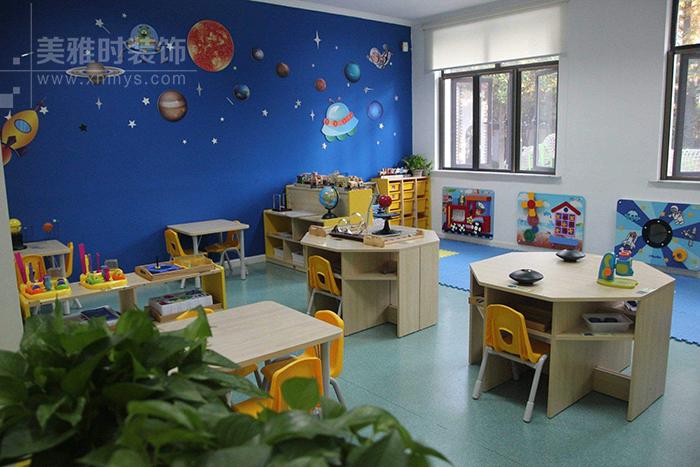 成都幼儿园设计-独特的风格让孩子更加喜欢