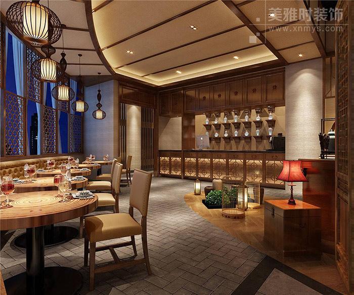餐饮中式装修设计 中式风格餐饮店如何打造