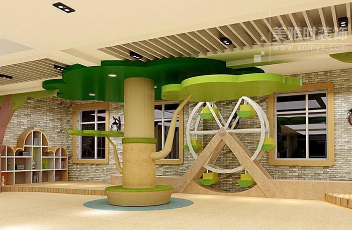 灯光照明设计在儿童空间设计中的作用