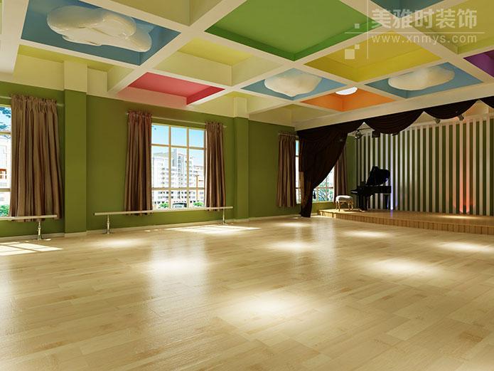成都成华区420平舞蹈室装修设计-舞蹈室装修设计过程中的注意要点