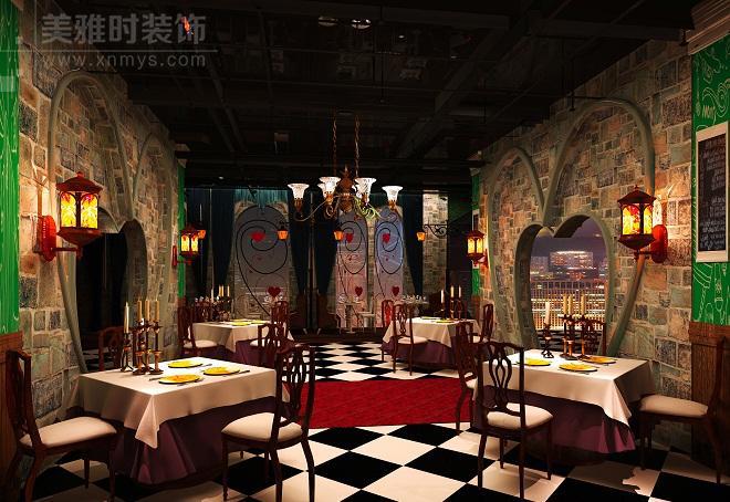 成都特色儿童主题餐厅黑龙江11选5走势图一定牛设计注意事项
