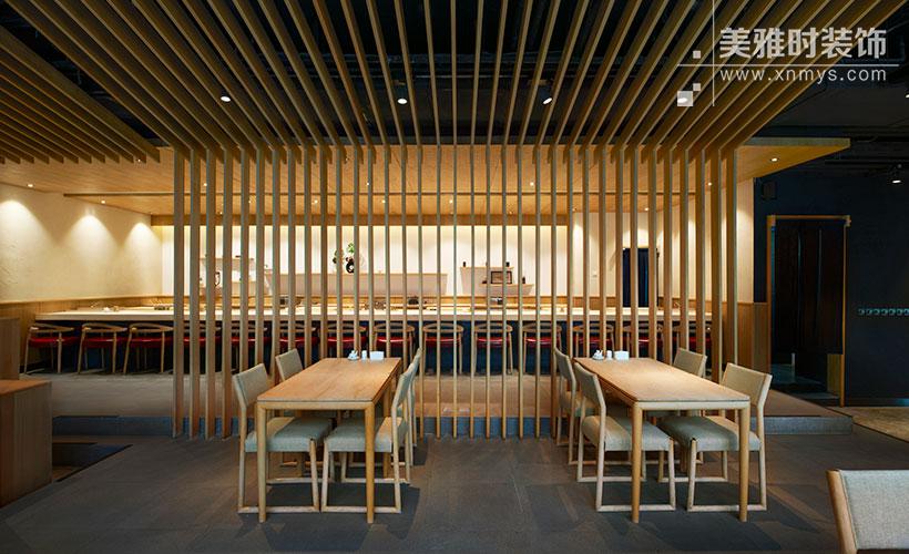 成都高新区210平餐饮店装修设计