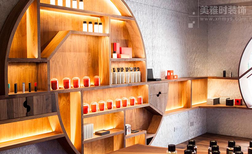 成都商场100平方左右的美容美发店装修设计