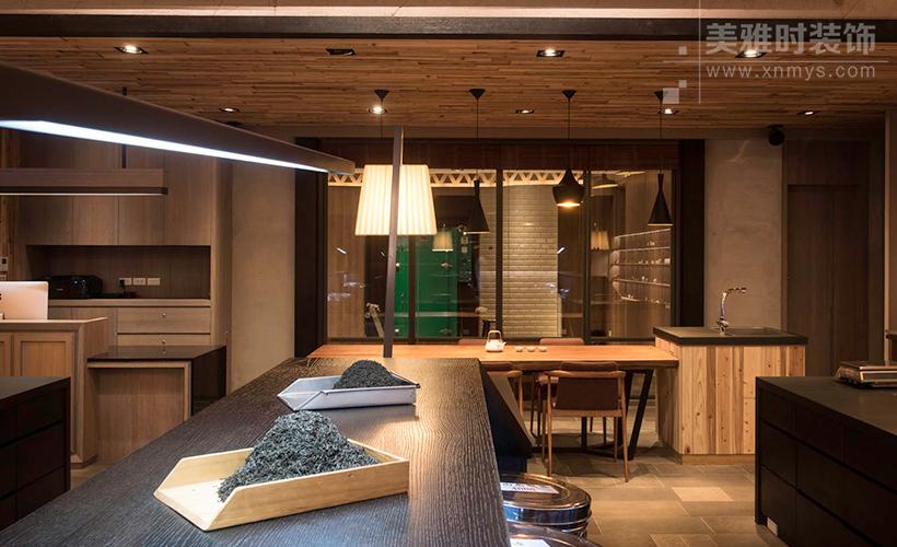 成都200平中式风格雅致茶楼设计装修