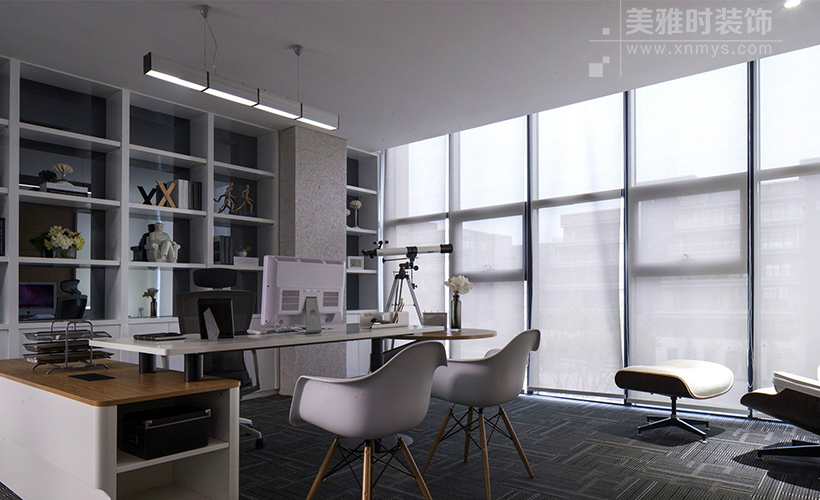 成都不同格局的办公室装修设计风格