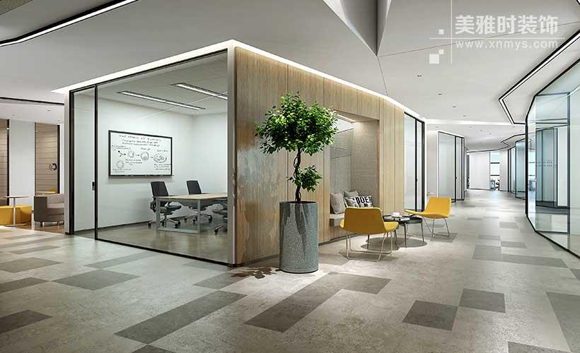 成都160平简约实用的办公室黑龙江11选5走势图一定牛设计要点