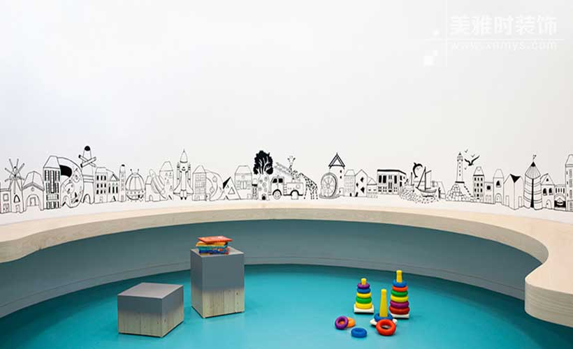 成都幼儿园装修如何设计自己的特色?