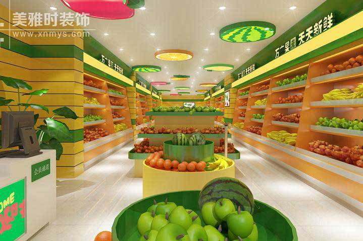 成都水果店装修应该怎么做?