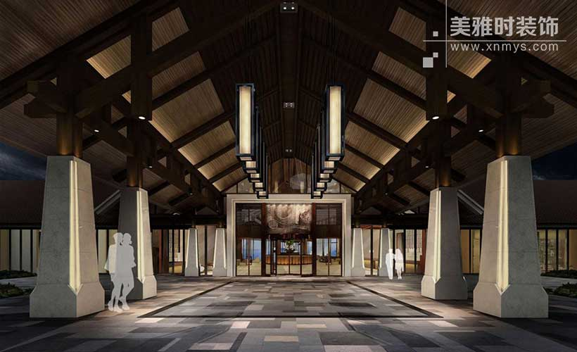 连锁酒店装修的整体定位与局部设计细节