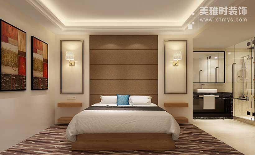 成都酒店客房装修的原则与技巧