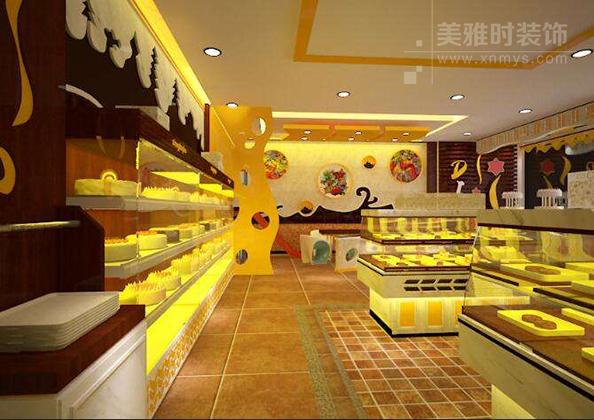 成都蛋糕店装修设计与选料方案要点注意