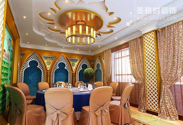 伊斯兰装饰文化元素在主题餐饮空间中的应用
