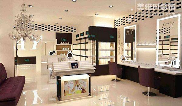 成都化妆品店铺装修设计怎么做?