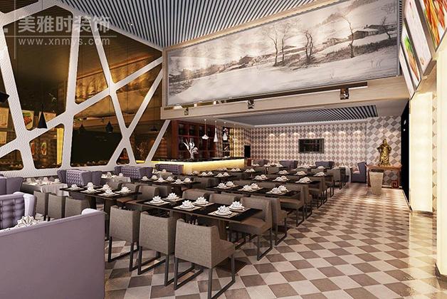 餐厅装修设计施工_餐厅装修照明设计的技巧