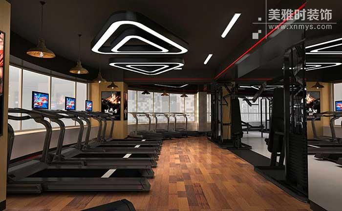 成都健身房创意效果设计与布局的合理搭配