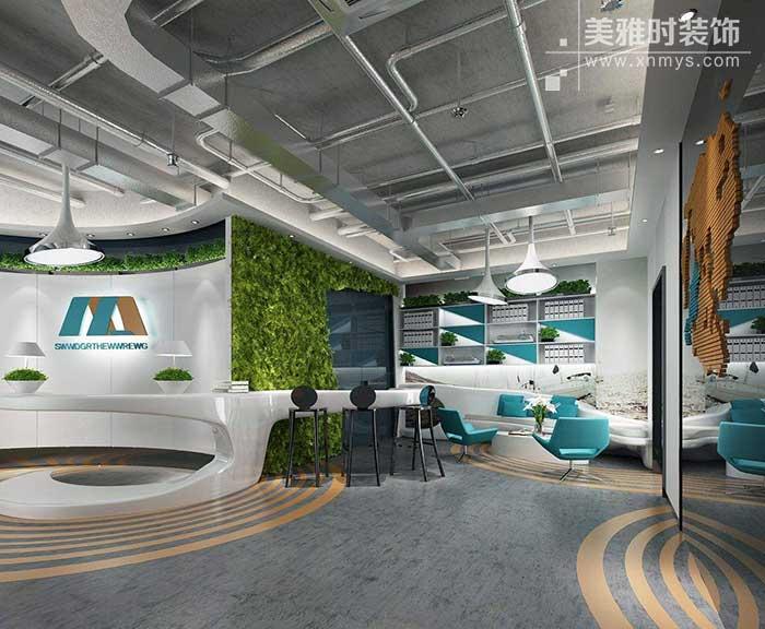 成都大型科技公司办公室该如何装修设计