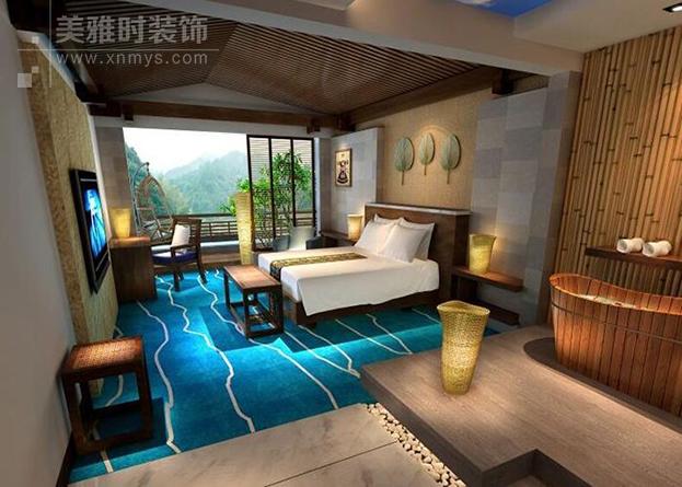 成都酒店多样化装修设计 酒店功能区设计原则