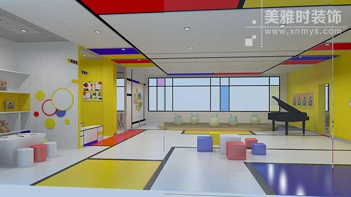 托育机构装修设计 - 儿童空间早教装修设计