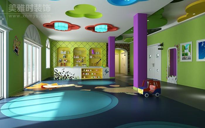 幼儿园休息室怎样设计孩子们才能安然入眠-成都幼儿园装修设计公司