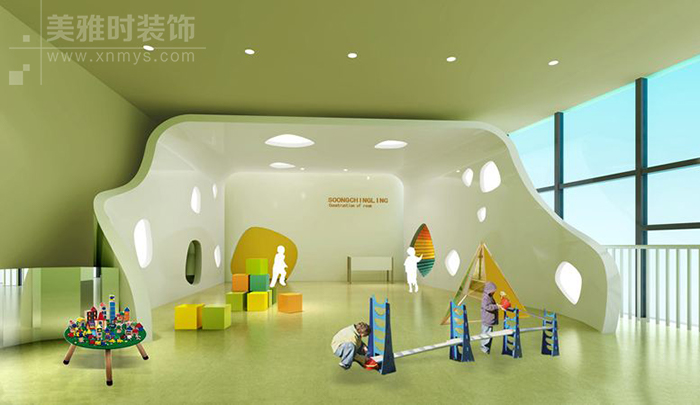 成都儿童学习阅读空间绘本馆装修设计研究与注意