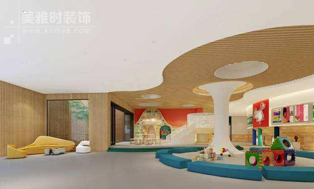 成都幼儿园装修设计-幼儿园文化建设与发展