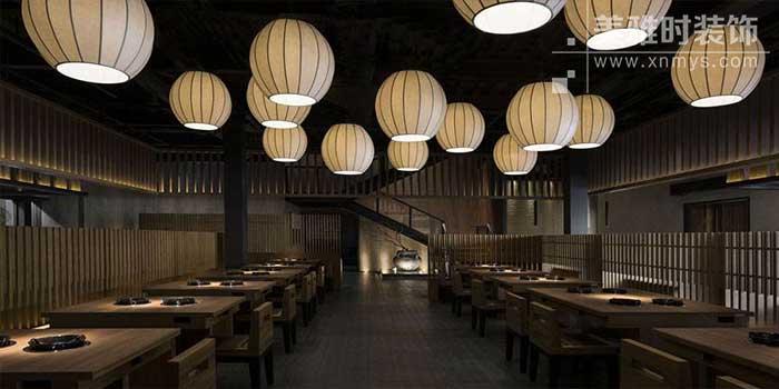 日式餐饮空间装修设计