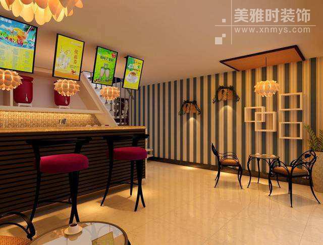 网红奶茶店装修设计-网红奶茶店如何设计?