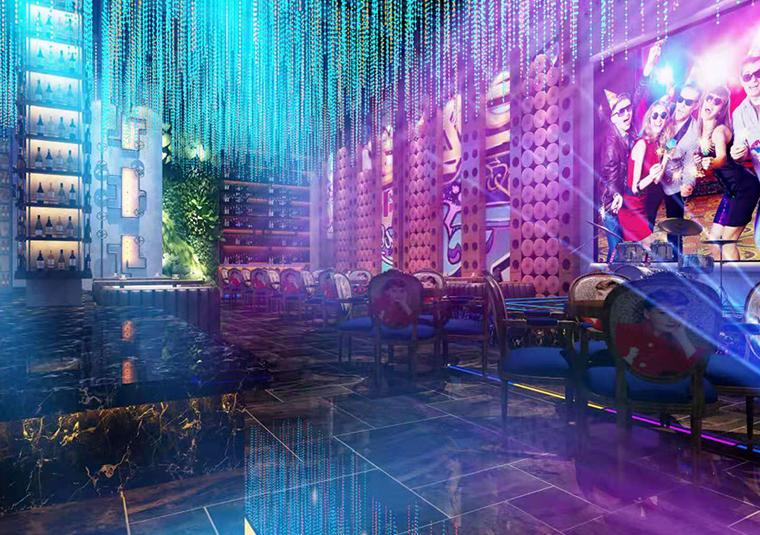 成都SOHO酒吧装修设计效果图